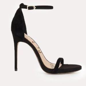 Sam Edelman Ariella  NWOTS Black Suede Heel Shoes